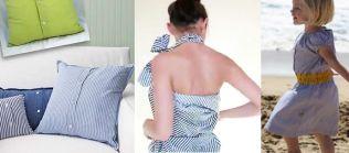 reciclar y transformar camisas