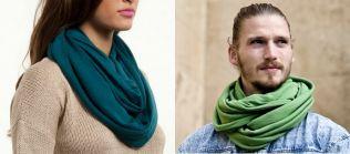 hacer bufandas con camisetas