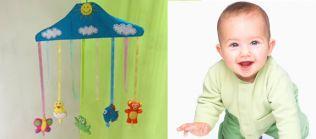 hacer un movil para bebe