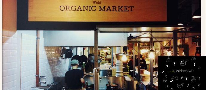 Woki Market comida ecológica Barcelona