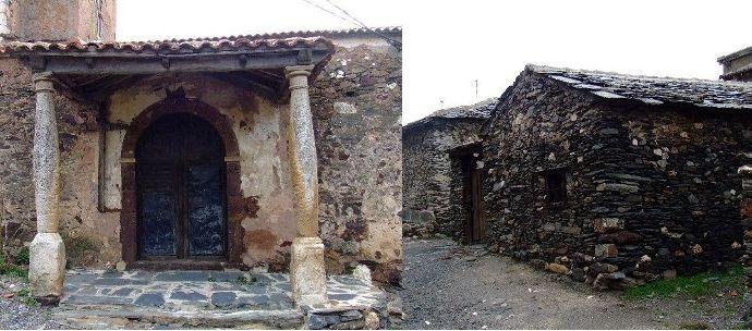 Pueblo abandonado El Muyo Segovia