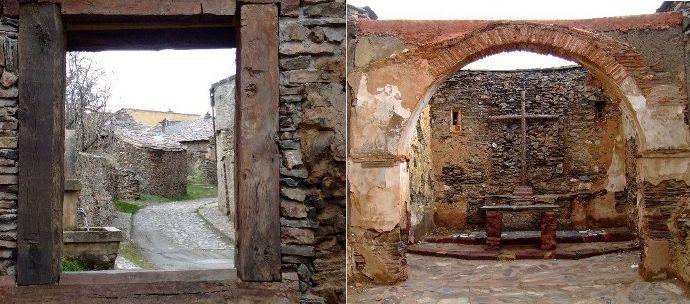 Pueblo abandonado Segovia Serracín