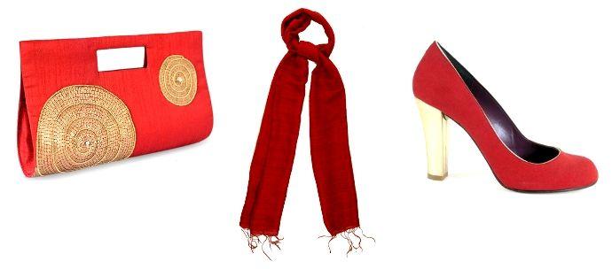 complementos rojos para San Valentin