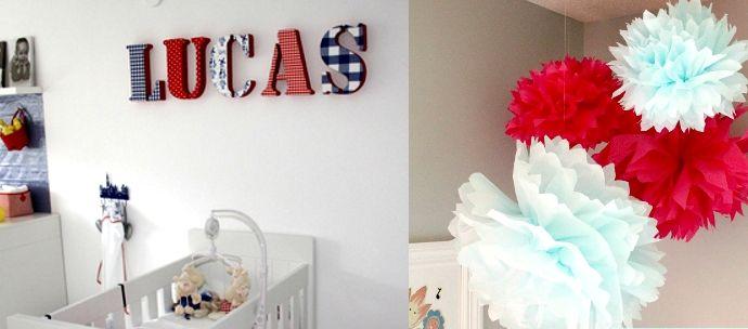 Manualidades decora habitaciones reciclando y sin coser - Manualidades para decorar habitacion bebe ...