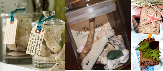 Manualidades: Guarda lo mejor del verano con frascos de recuerdos ...