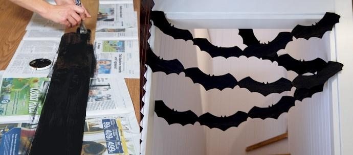 Manualidades halloween reciclado y f cil de otra manera for Decoracion halloween para casa